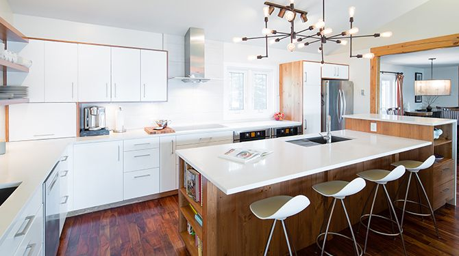 custom kitchen project managment